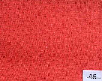 High quality cotton poplin, 1mm polka dots no46