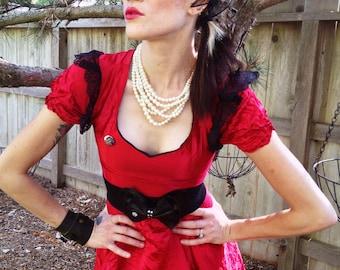 Gypsy Princess Dress: Red Annie