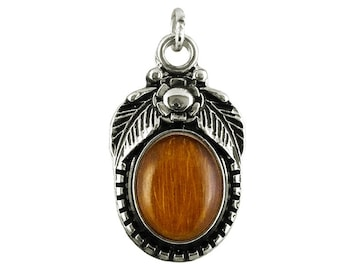 Scryb Sprites charm Necklace pendant silver plated, optionally with band Forest ghost Pendant gothic Viking Jewelry Medallion