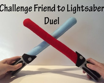 Two Star Wars Inspired Lightsabers