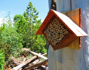 Mason Bee House - Diamond
