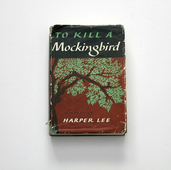 To Kill A Mockingbird Book 1960 7th Printing HB with DJ by Harper Lee