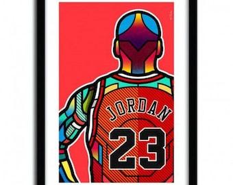 Affiche MJ par Van Orton