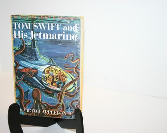 Vintage 1954 Tom Swift Jr. And His Jetmarine book #2