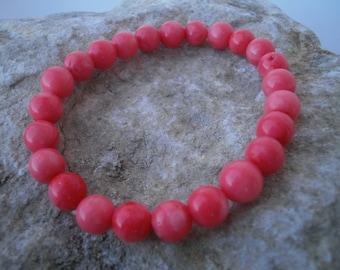 Bamboo Coral Bracelet 8 mm #018