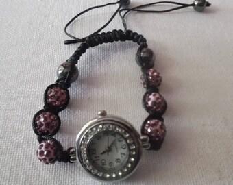 Bracelet Shamballa watch