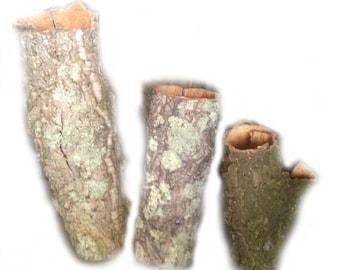 Cork Tube Natural - Virigin Cork - 30cm or 50cm lenght