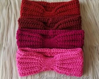 Crochet Toddler Ear warmers, Toddler Headwrap, Toddler Headband
