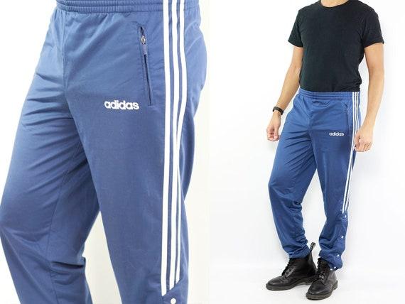 ADIDAS Track Pants Track Pants Adidas Vintage Adidas Pants Sports Pants Adidas Blue Adidas Pants 80s Sport Pants Vintage Joggers 80s Adidas