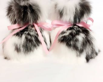 ALASKAN RABBIT BOOTIES