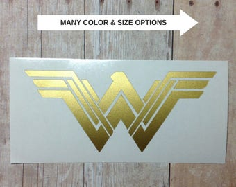 New Wonder Woman Movie Logo Vinyl Car Decal Sticker   Laptop  Phone Tumbler Window 2017