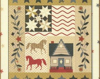 3 Brothers Farm Quilt Pattern by Minick and Simpson