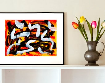 REDUCED - Nest of Snakes - No.5 (Abstract)