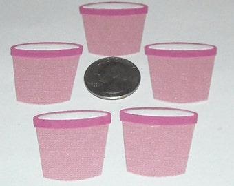 Ice Cream Buckets - 5 to a set