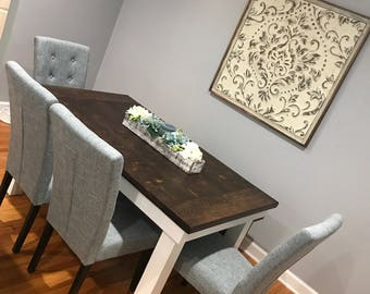 Farmhouse harvest dining table **Local pickup/delivery only**