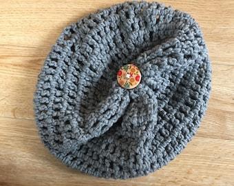 Slightly Slouchy Merino Wool Hat
