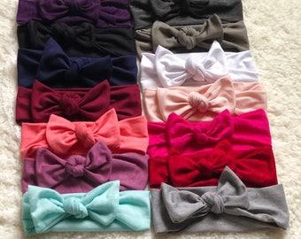 Baby Girl Headband, Baby Headband, Baby Headwrap, Baby Bows, Baby Turban Headband, Baby Girl Headwrap