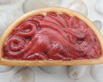 Smaug Inspired Soap