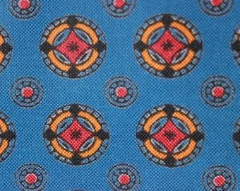 Unused 60s dirndl fabric, vintage apron fabric