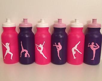 Personalized Kids Party Favor - gymnastics, dance, sports, super hero, sports bottles