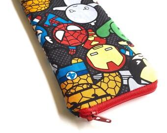 Eyeglass/Sunglass Case Cozy - Marvel Heroes