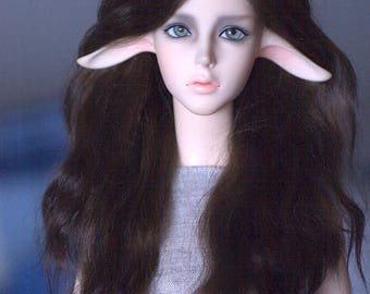 Pre-order on angora mohair wigs for BJD SD and MSD size
