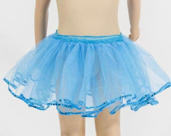 tutu skirt with tulle to 6 year old girl