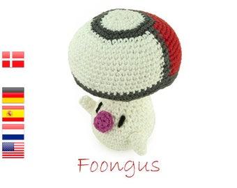 Crochet pattern Foongus (Pokemon)