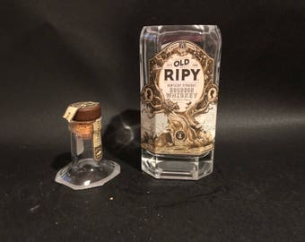 375ML Old Ripy Wild Turkey Candle/Old Ripy Batch Bourbon Whiskey BOTTLE Soy Candle With/Without Base. Made To Order !!!!!