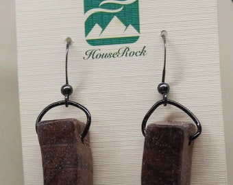 Black Walnut Earring