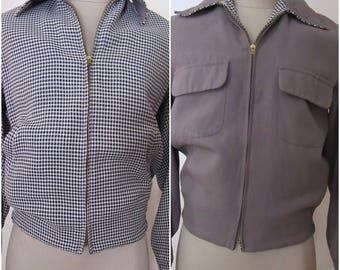 Reversible 1950s Jacket