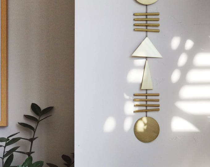 """Geometric Wall Hanging - """"elio"""" - made-to-order - 2 week turnaround time"""