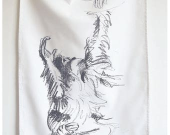 Orangutan Palm Oil Free Cotton Tea Towel