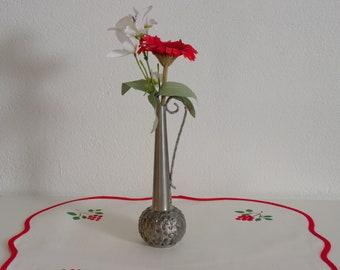 Vintage Pewter Bud Vase from Oslo Metal, Norway