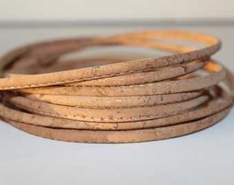 Cords Cork 4mm (1 meter) - Natural