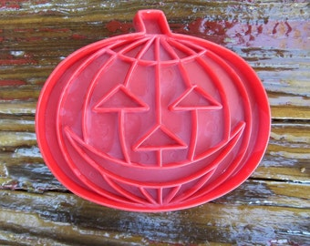 Vintage Jack 'O Lantern Cookie Cutter Halloween Cookies Halloween Party Halloween Treats 1980's