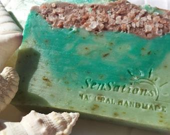 Beachy Seaweed Soap  - vegan soap, gift, holiday gift, stocking stuffer, Christmas gifts
