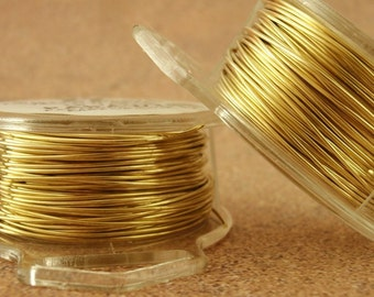 Raw Yellow Brass Wire - 100% Guarantee - You Pick Gauge - 4, 6, 8, 10, 12, 14, 16, 18, 20, 22, 24, 26, 28, 30, 32