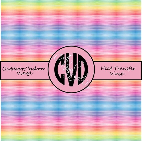 Stripe Patterned Vinyl // Patterned / Printed Vinyl // Outdoor and Heat Transfer Vinyl // Pattern 735