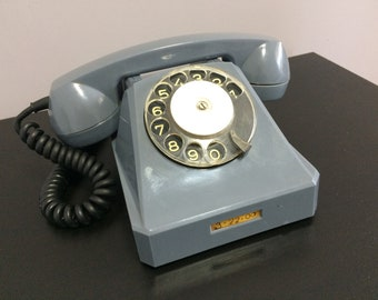 ROTARY TELEPHONE: Soviet 1967 Vintage Rotary Dial Phone Dialer Made in the USSR