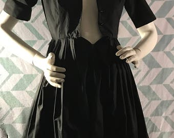 1950s/60s Texas Shirtwaist dress