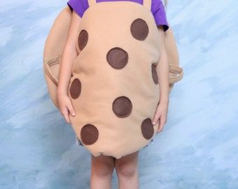 Chocolate  Chip Cookie Costume-Childrens fitsd ages 3-6