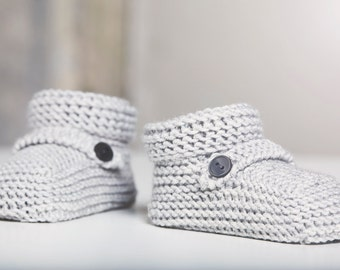 Tiara Bootie. The finest quality Italian Merino handmade booties for baby boys and girls