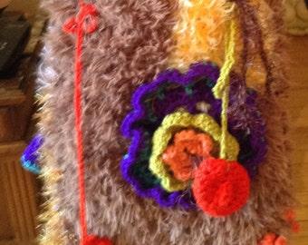 wool bag Bohemian vintage