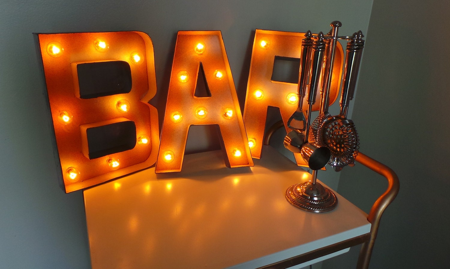 bar light sign 9824 12 plug in bar light up marquee sign mozeypictures Choice Image