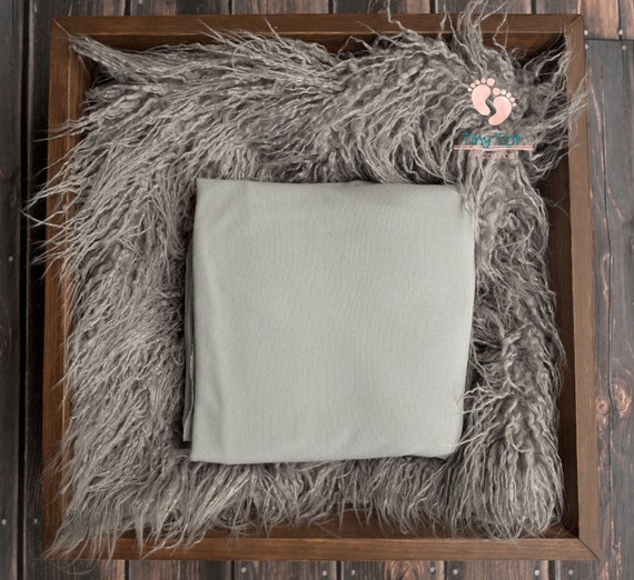 Silver Beanbag Fabric