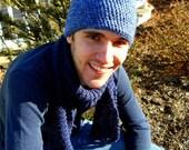 London Fog crochet hat- Men's hat