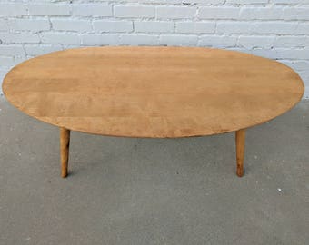 Mid Century Modern Conant Ball Coffee Table By Russell Wright