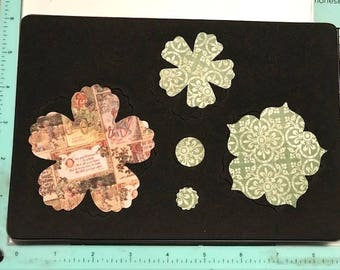 Sizzix Stampin Up Fun Flowers Bigz L Die - Cleaned and Tested