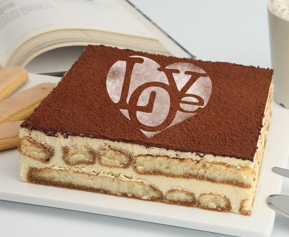 Liebe Herz Kuchen Schablone Kuchen-Runde Schablone für Kuchen